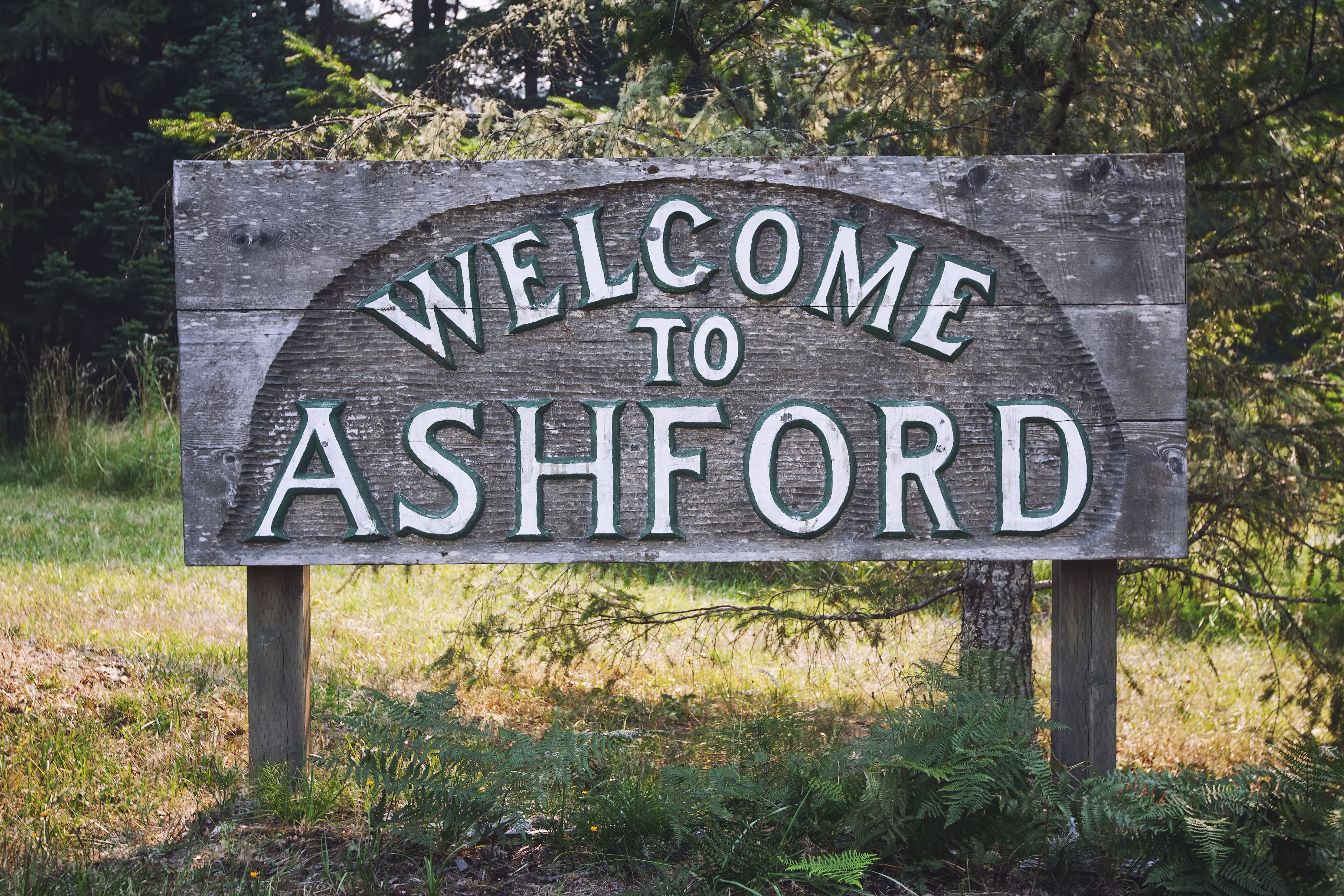 Welcome to Ashford Sign