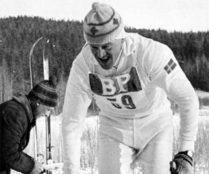English: Swedish cross country skier Assar Rön...