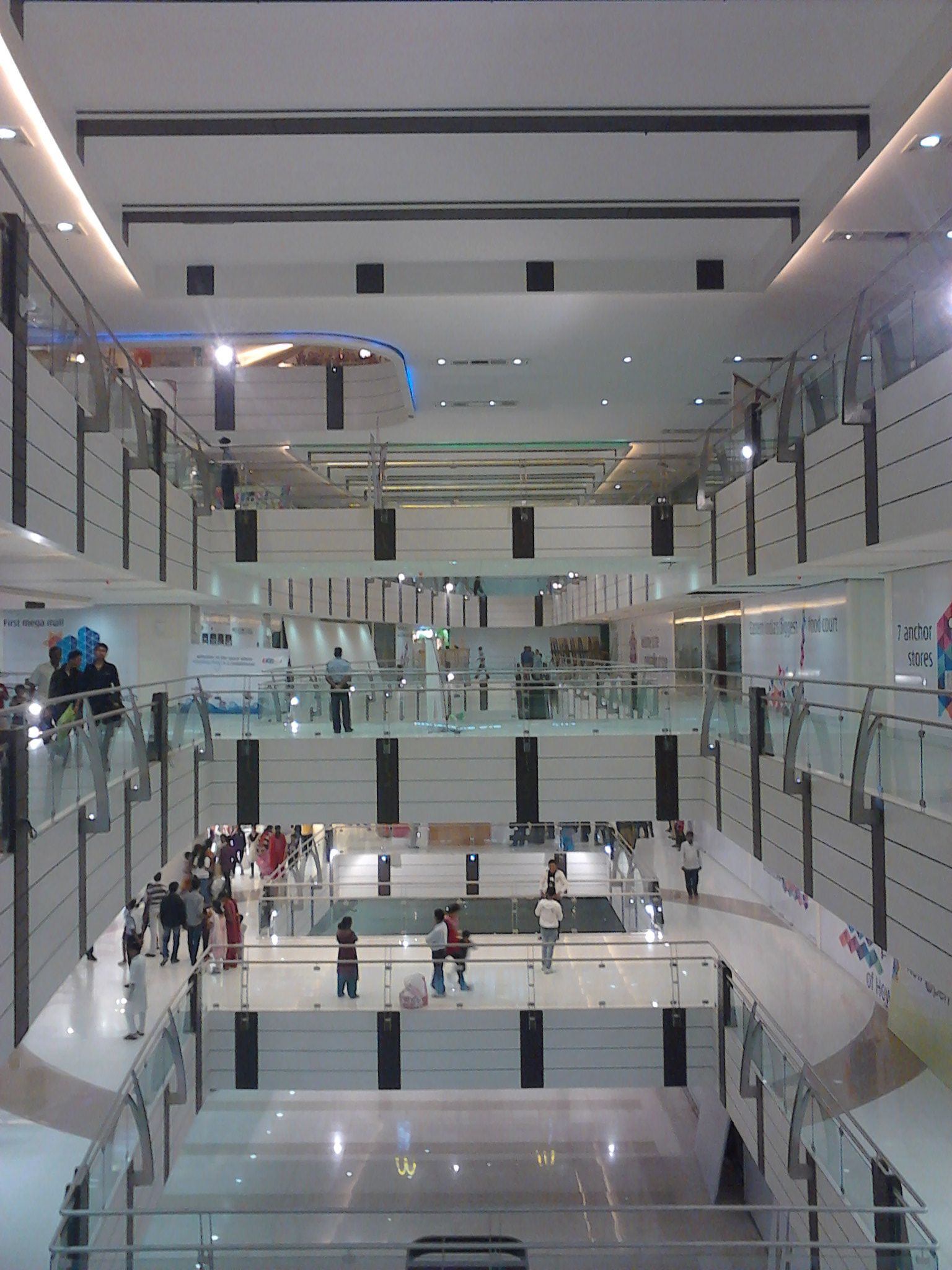 The Shops at Riverside is a two-level enclosed shopping mall, located in Hackensack, in Bergen County, New Jersey, United States, off Route 4, along the Hackensack River. The mall has a Gross leasable area (GLA) of , sq ft (61, m 2).