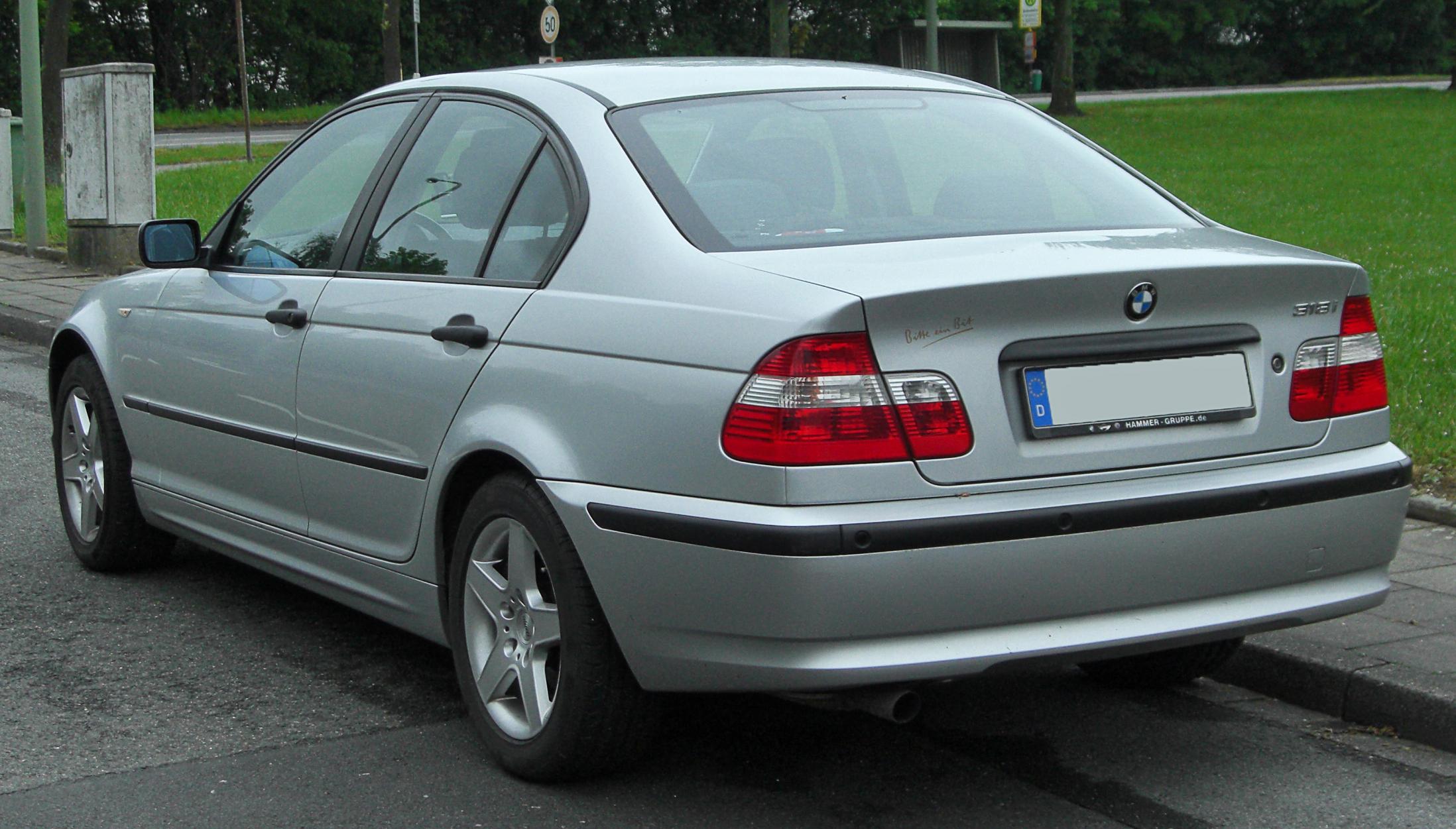 File:BMW 318i (E46) Facelift rear 20100507.jpg - Wikimedia ...
