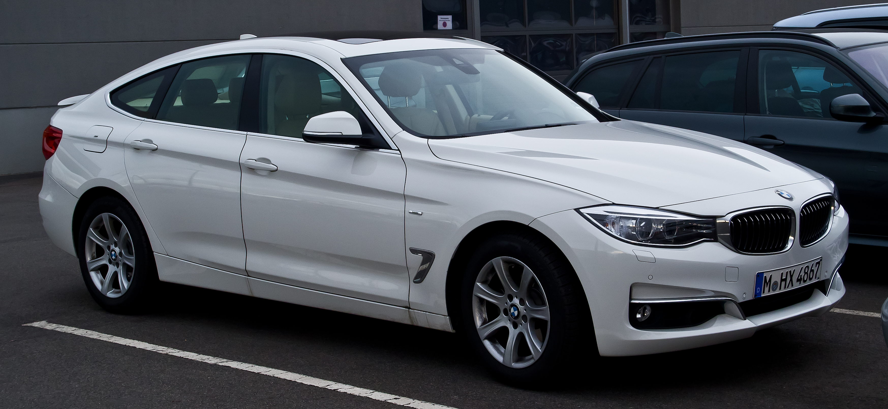 File Bmw 320d Gt Luxury Line F34 Frontansicht 21