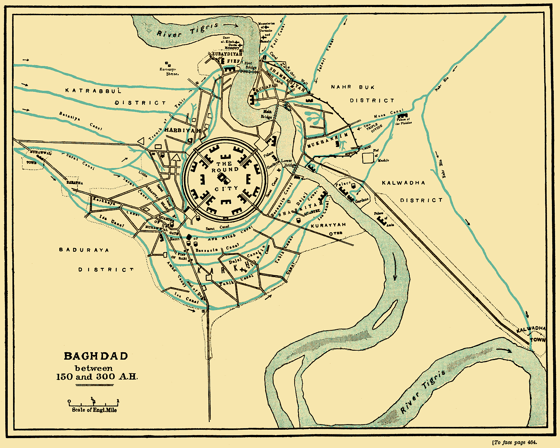 Baghdad between 767 and 912