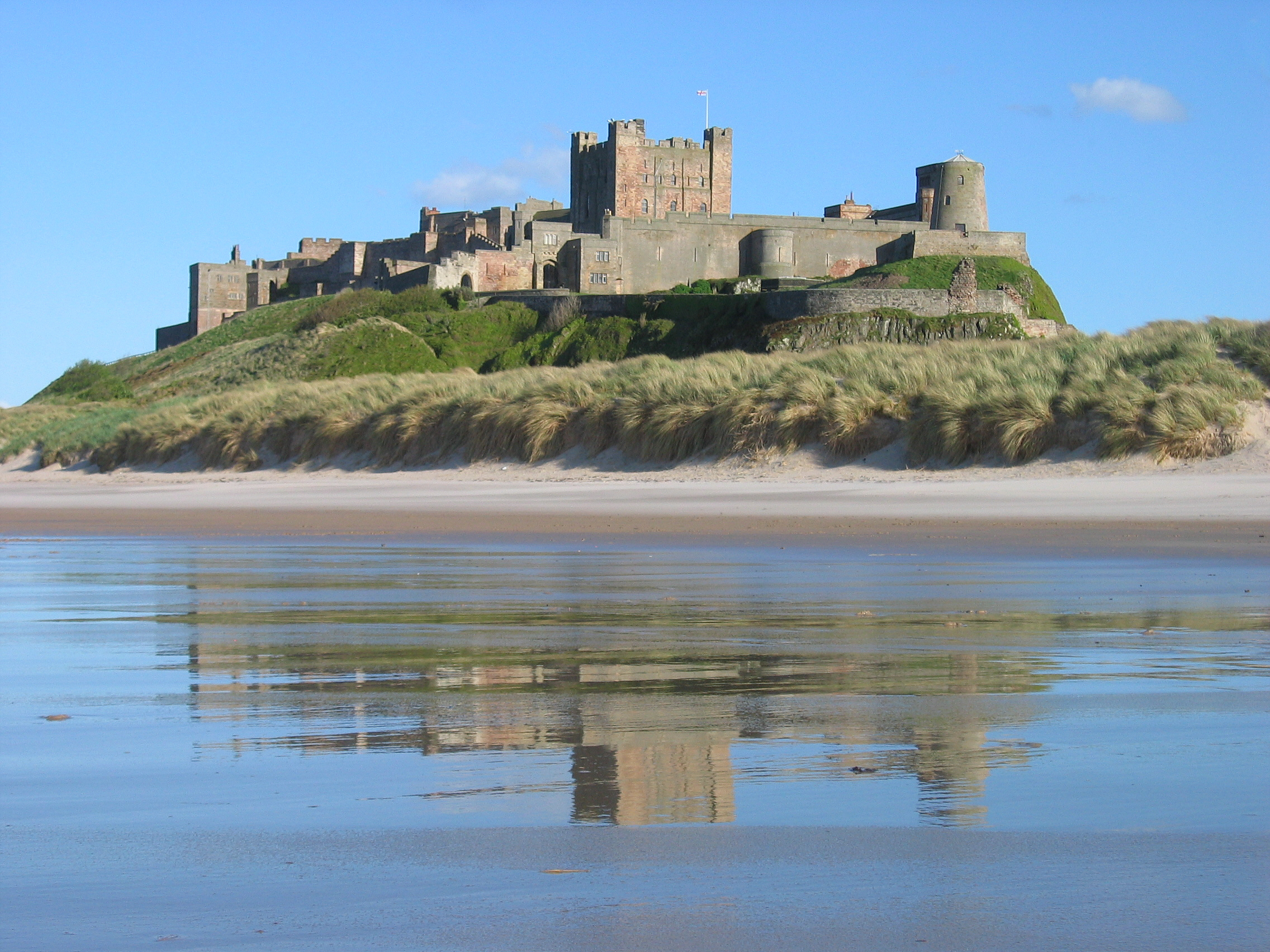 Best Castles In England: Bamburgh Castle