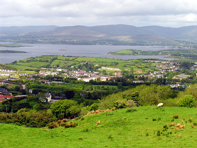 A view overlooking part of Bantry, Ireland. Photo by Pam Brophy.
