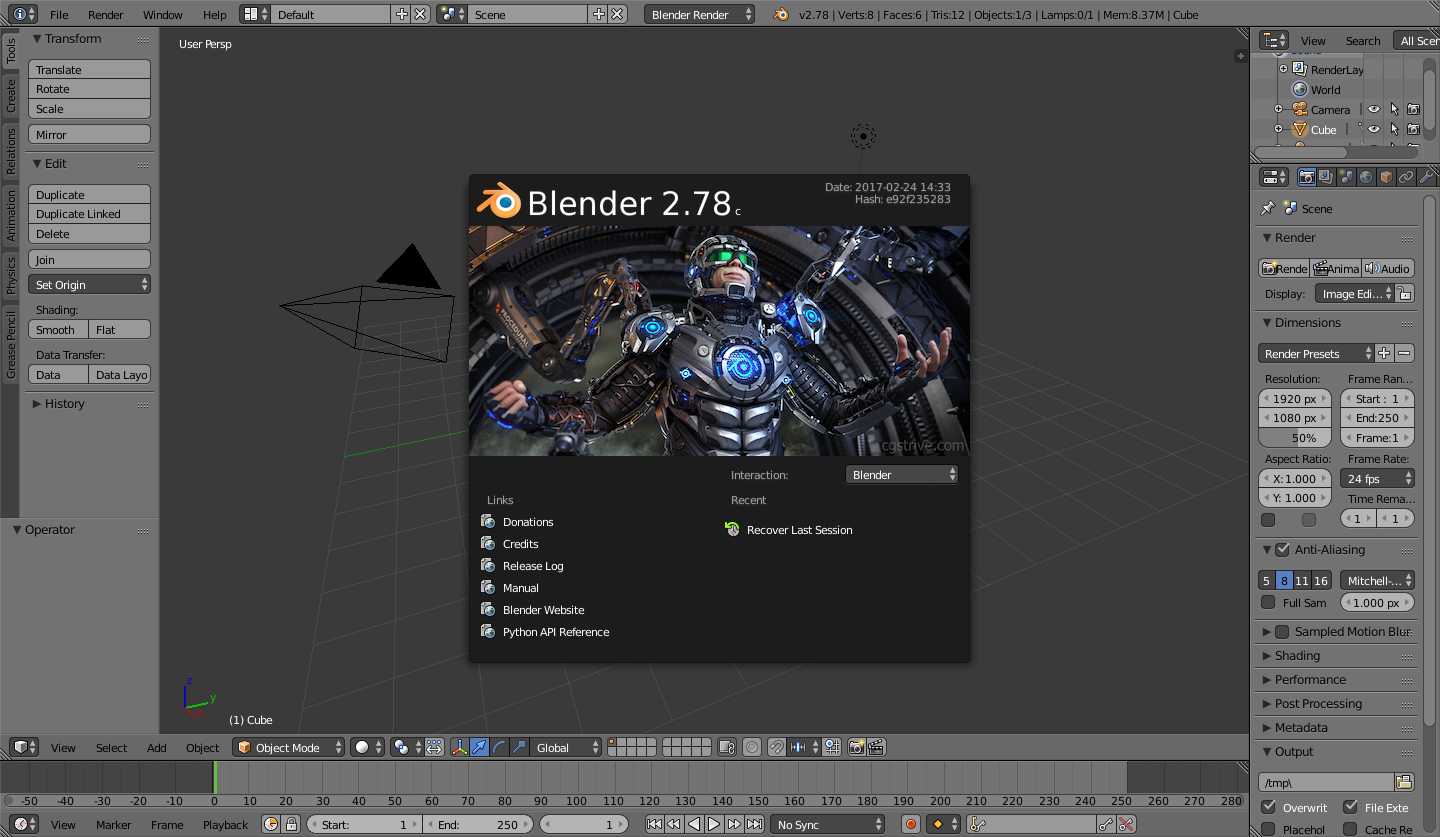 Blender software wikipedia 3d model editor