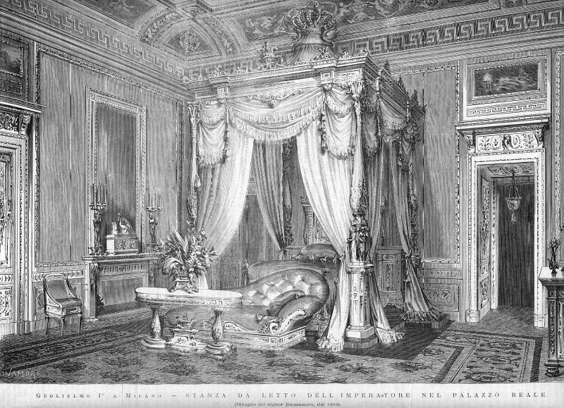 File bonamore antonio 1845 1907 stanza da letto dell 39 imperatore nel palazzo reale a milano - Insonorizzare stanza da letto ...