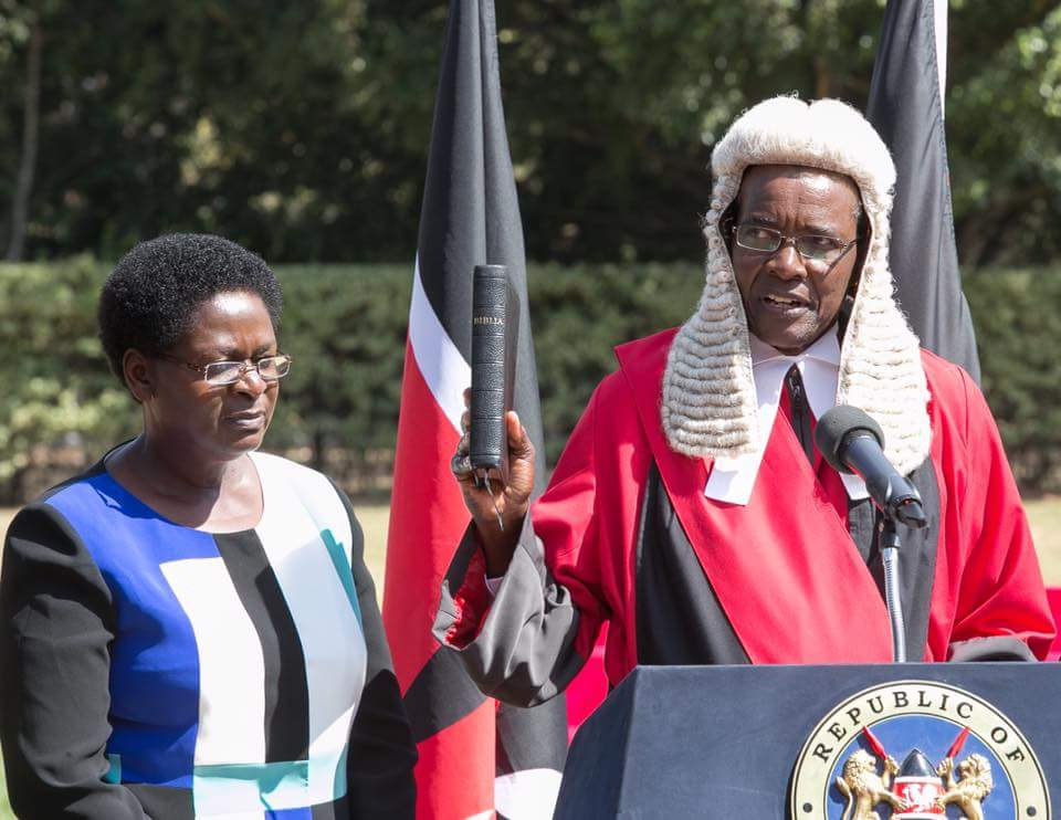 Image result for Chief Justice David Maraga