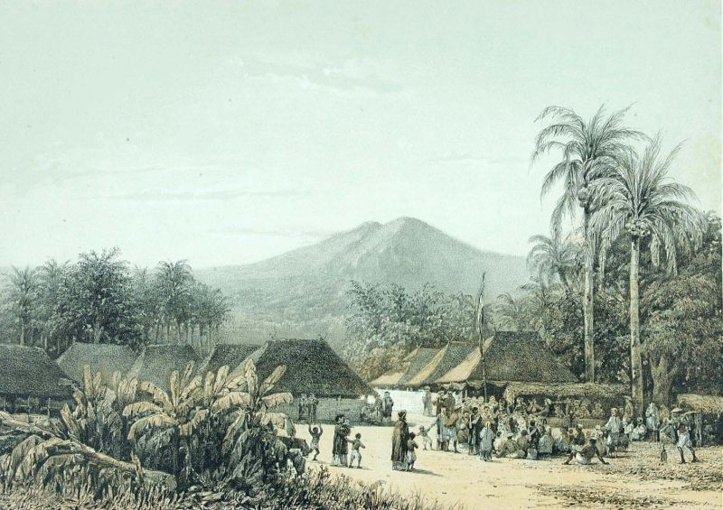 File:COLLECTIE TROPENMUSEUM Een dorpsfeest in de omgeving van de berg Arjuna TMnr 3728-709.jpg