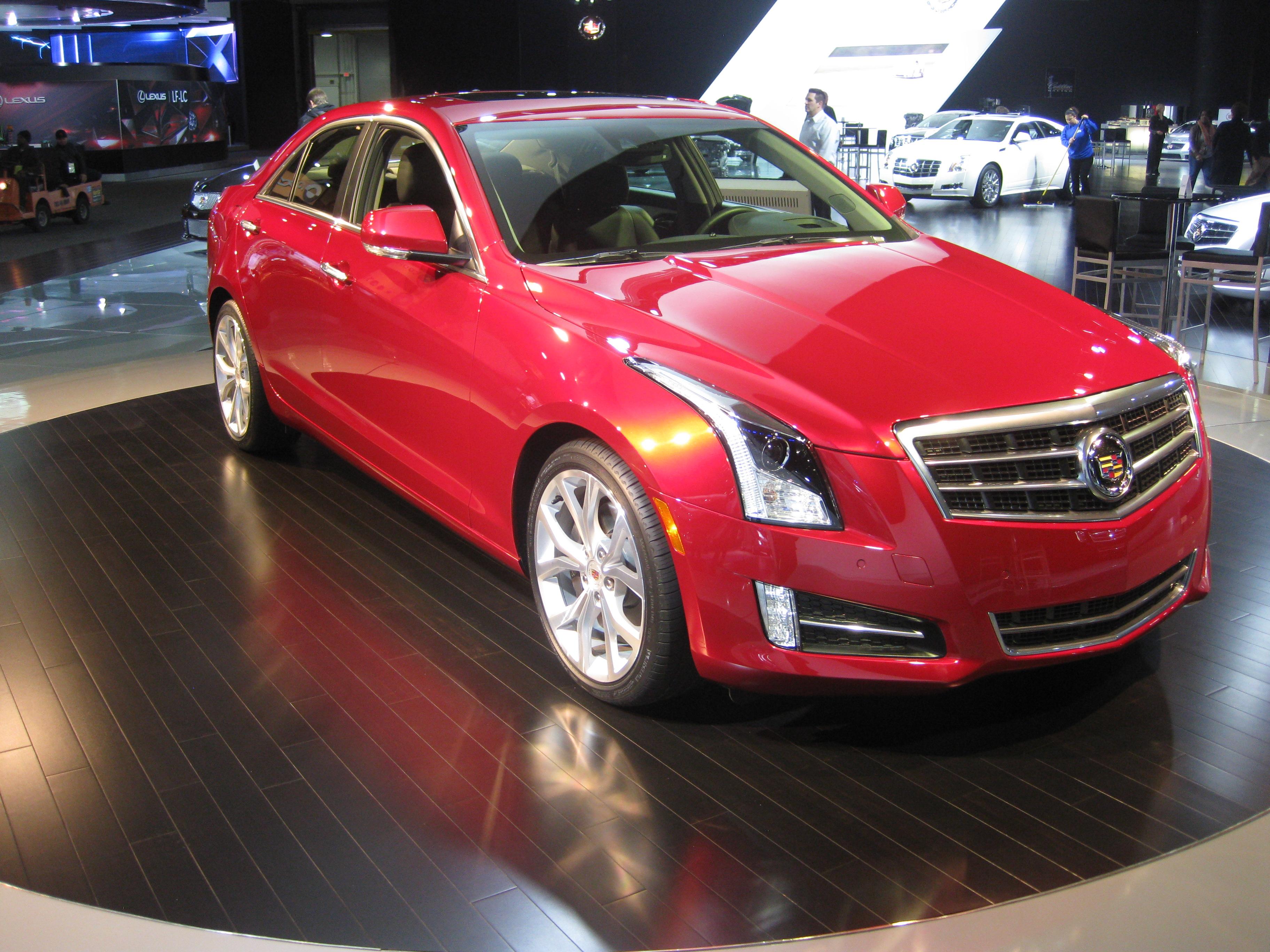 File:Cadillac ATS 2012.jpg - Wikimedia Commons
