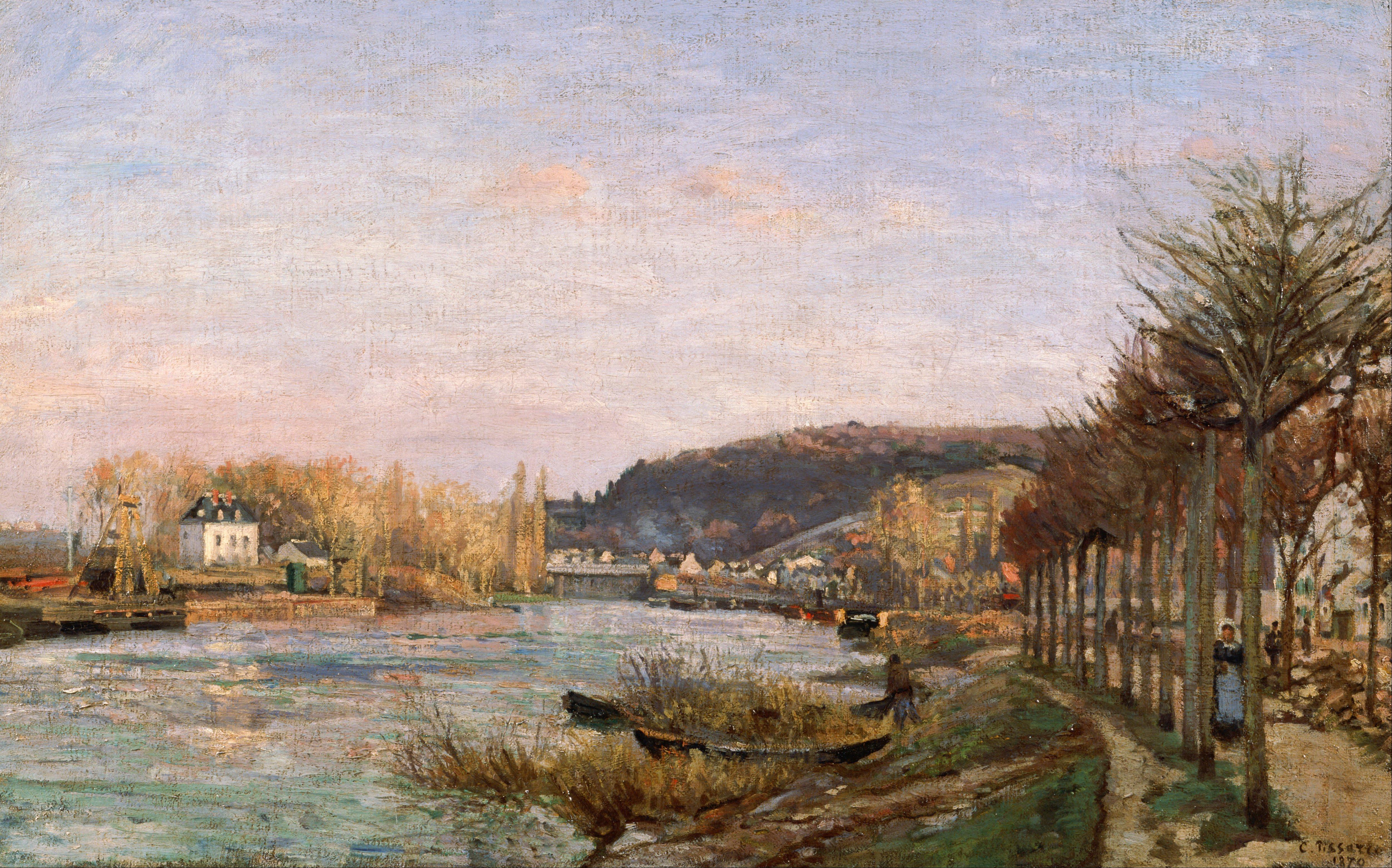 Painting For Sale Near Seine Paris