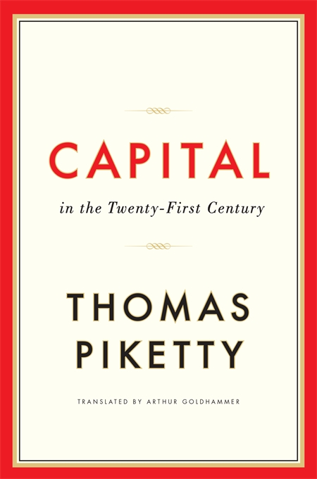 Picture of a book: Capital In The Twenty-First Century