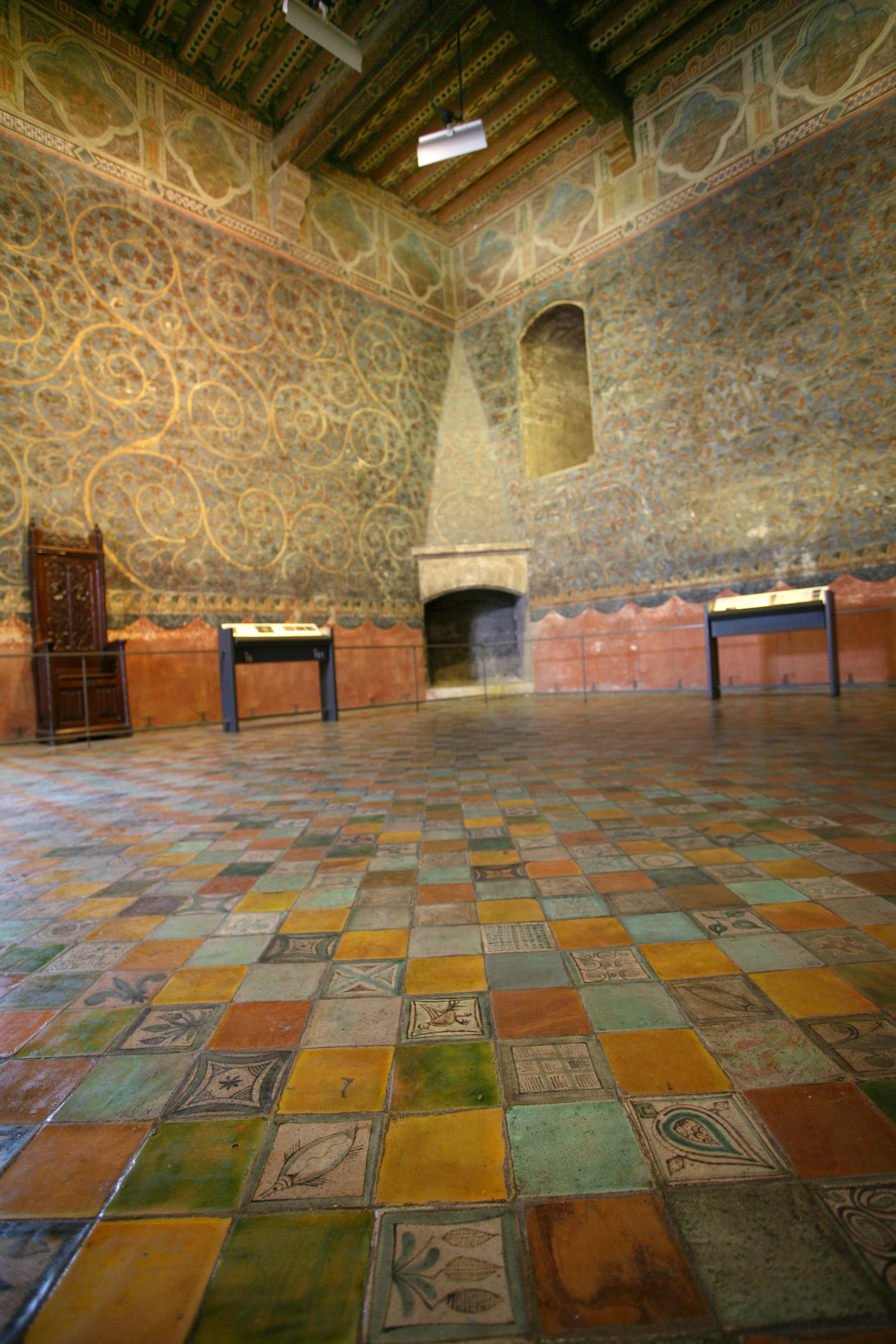 File chambre du pape par jm wikimedia commons - Chambre des metiers du vaucluse ...