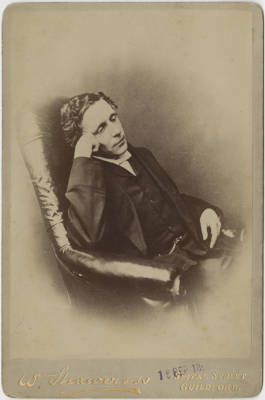 Lewis Carroll self-portrait circa 1895