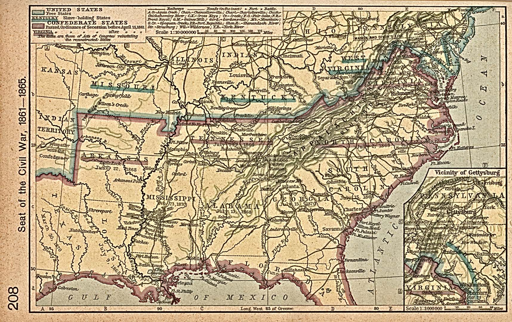 FileCivil War Shepherdjpg Wikimedia Commons - Us map civil war battles