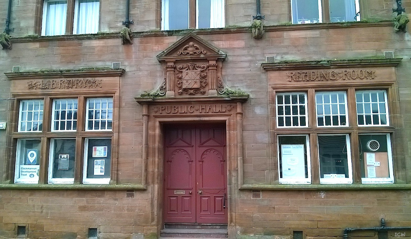 File clackmannan public hall main street with library and for The family room main street