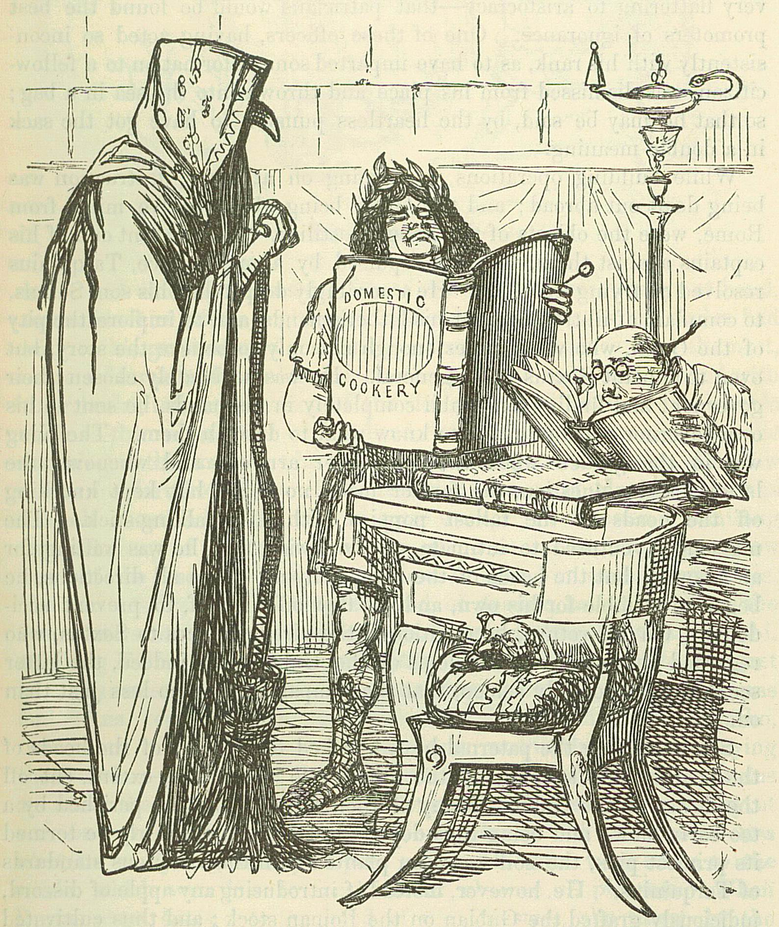 Image by John Leech, from: The Comic History o...