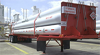 Compressed hydrogen tube trailer Semi-trailers that consist of clusters of high-pressure hydrogen storage tubes