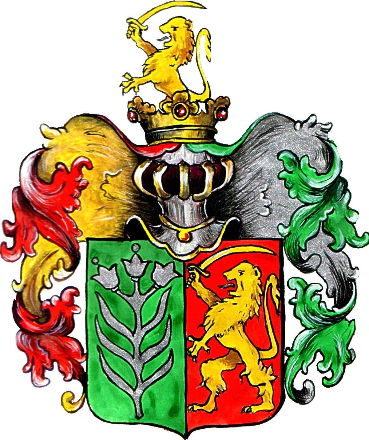 Hungarian Family Crest - #traffic-club