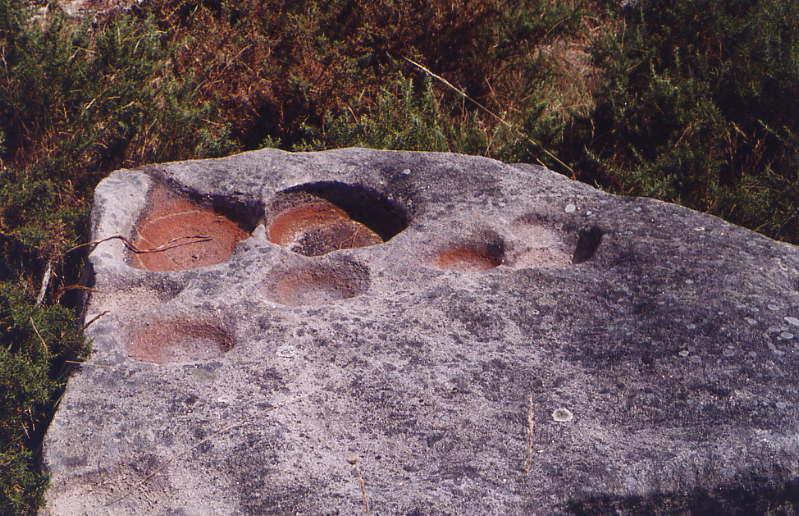 Pierres avec cupules en Galice