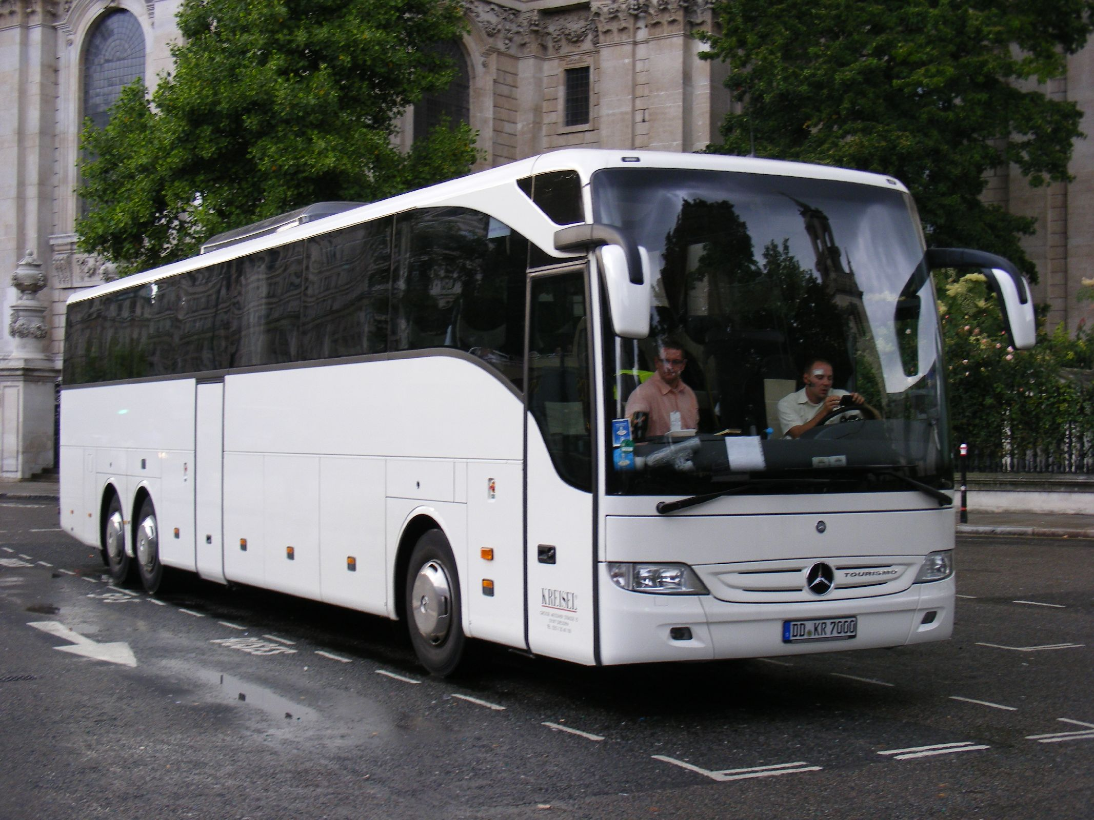 File Dd Kr 7000 Mercedes Tourismo Kreisel Dresden