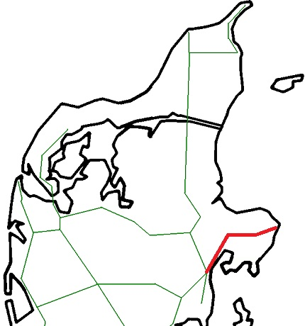 kart over nordjylland Grenaa Line   Wikipedia kart over nordjylland