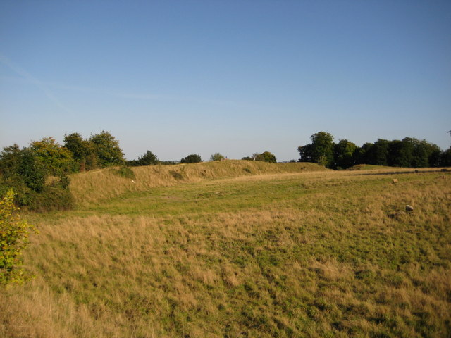 Danebury Ring, Iron Age Hill Fort - geograph.org.uk - 1506378