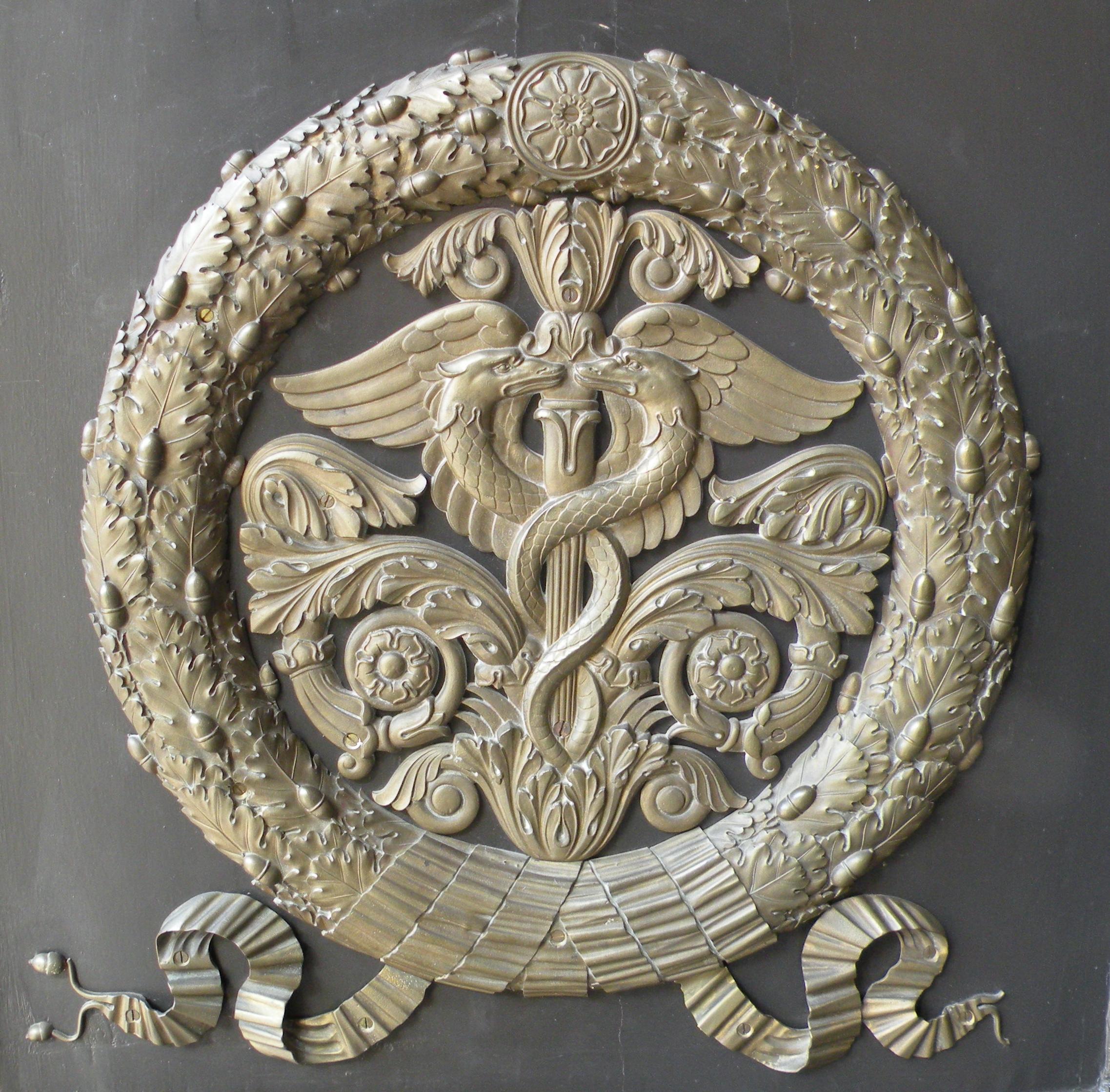 File decor porte ext salon casimir wikimedia for Plaque decorative porte