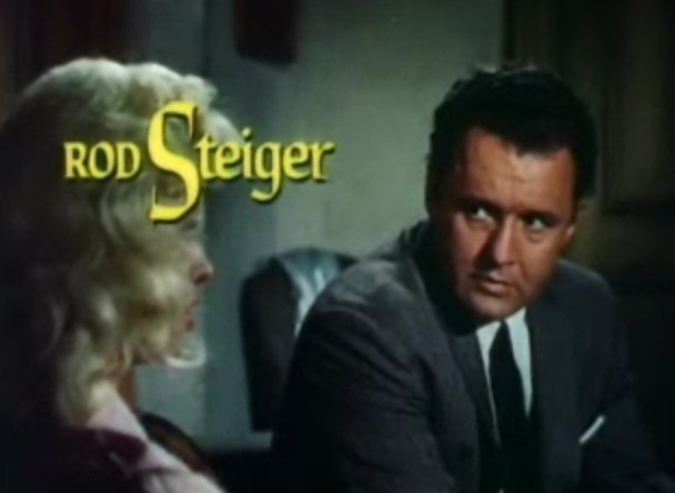 Rod Steiger with Doris Day