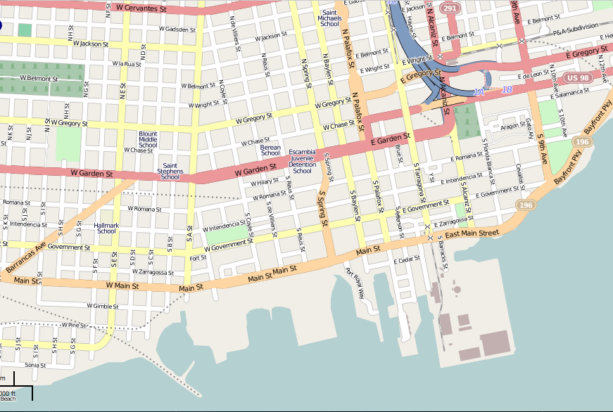File:Downtown Pensacola Map.png - Wikimedia Commons on map of downtown palm springs ca, map of downtown redwood city ca, streets in pensacola fl, tourist map of pensacola fl, map of downtown traverse city mi, map of downtown plano tx, map of downtown new bern nc, map of downtown new orleans la, map of downtown las vegas nv, map of downtown santa barbara ca, google map of pensacola fl, map of downtown roseville ca, road map of pensacola fl, map of downtown rockville md, map of beaches fl, map of pensacola christian college, airport pensacola fl, map of downtown little rock ar, map of pensacola and destin florida, map of downtown paterson nj,