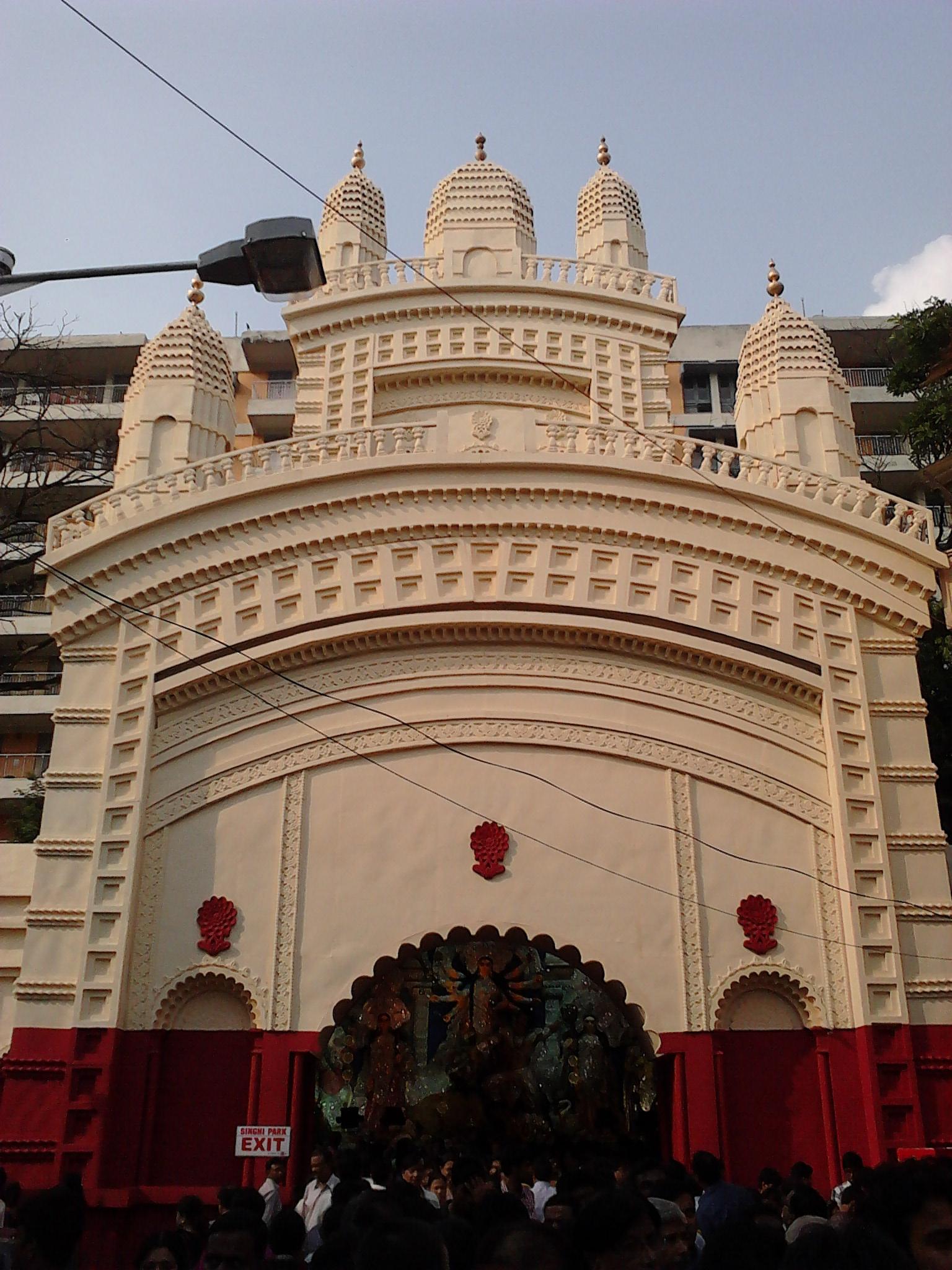 Filedurga puja pandal singhi park kolkata 2011 10 03 00660g filedurga puja pandal singhi park kolkata 2011 10 03 00660 altavistaventures Image collections