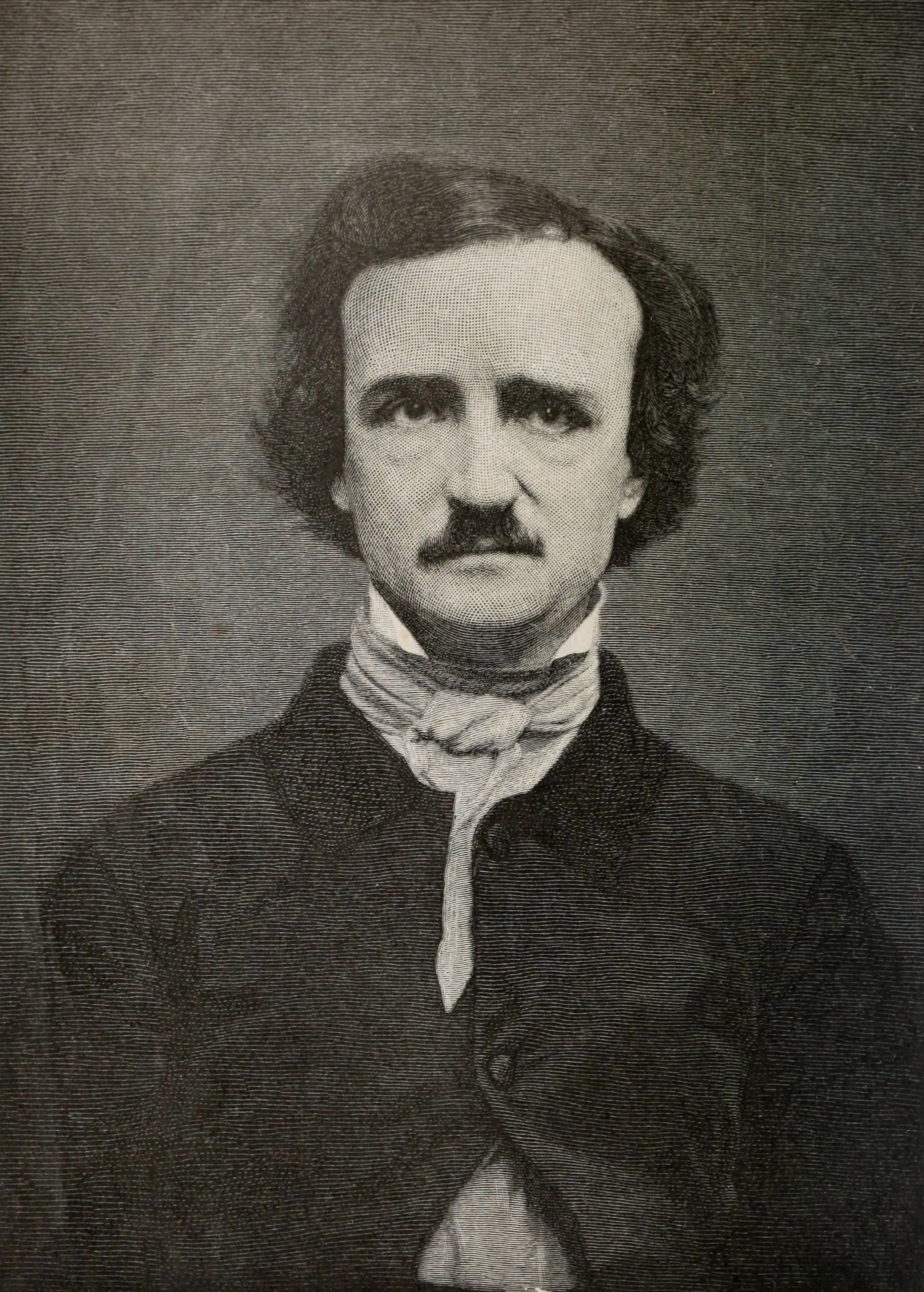 "edgar allan poe Edgar allan poe was one of the most original characters of american literature his most famous poem is ""the raven"" (1845) oh, and he was a fan of hoaxes and cryptograms."