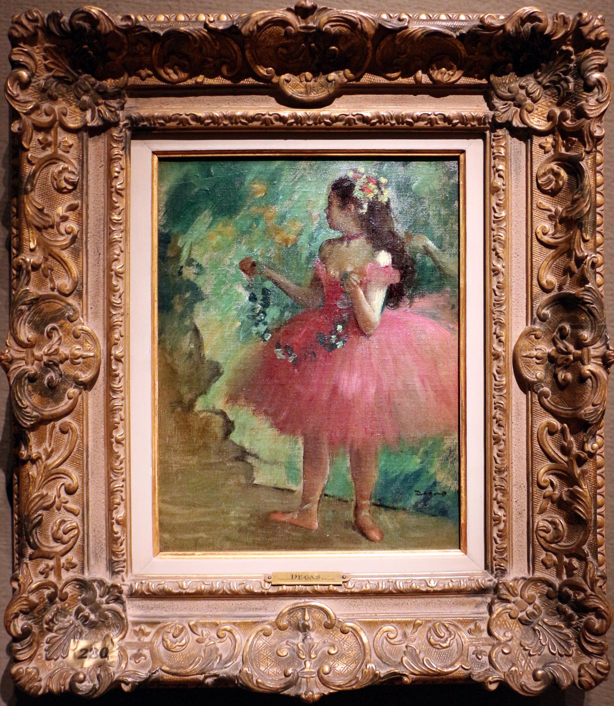 File:Edgar degas, ballerina rosa, 1878.jpg Wikimedia Commons