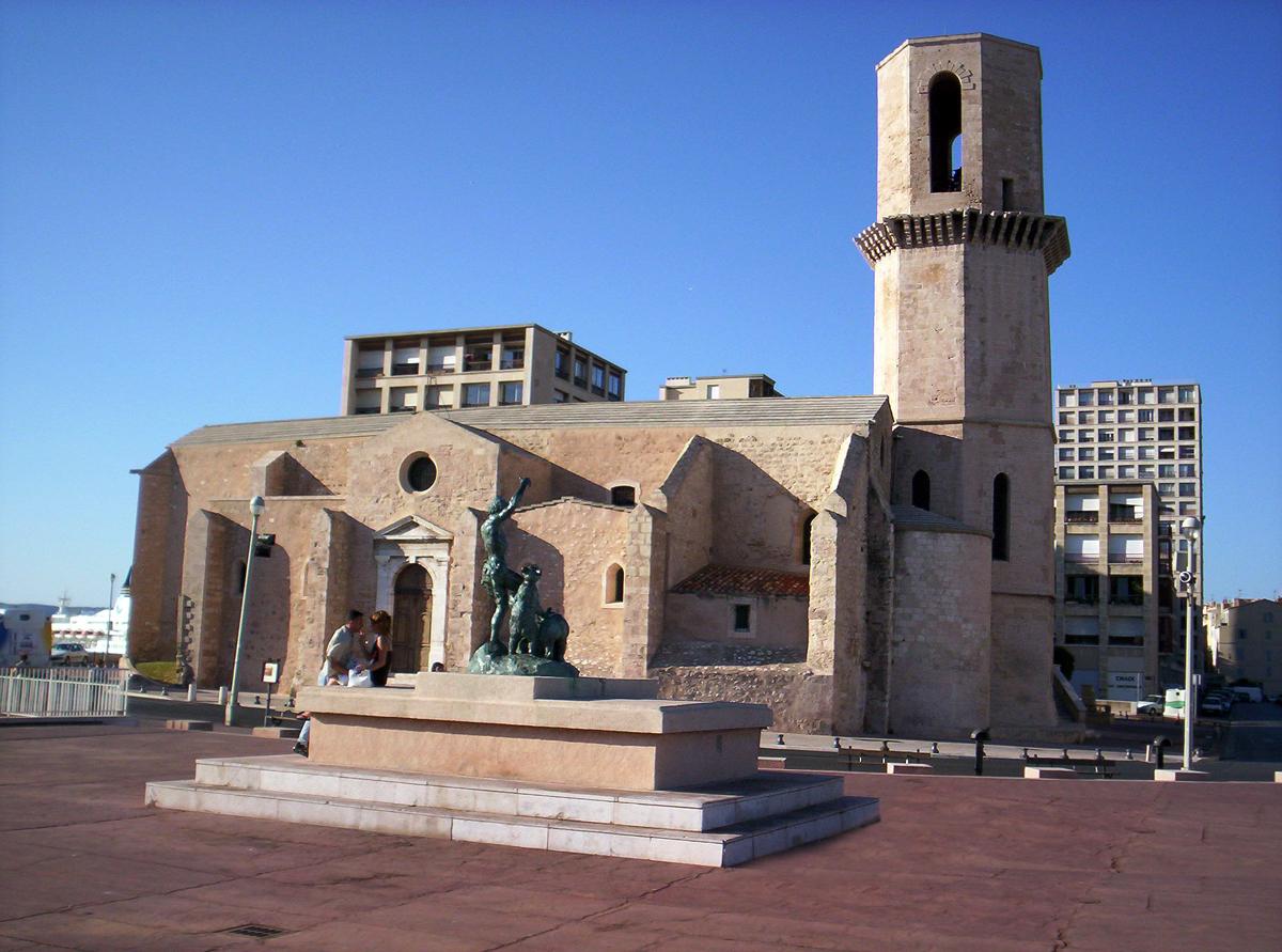 File eglise saint laurent marseille - Eglise saint laurent salon de provence ...