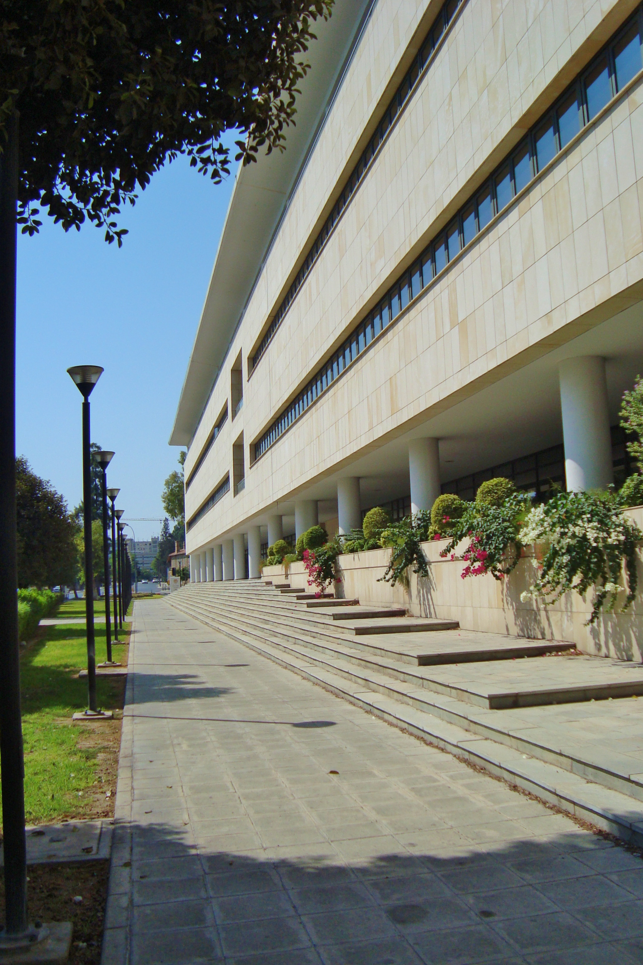 Enormous Ministry of Finance in Nicosia Republic of Cyprus.jpg