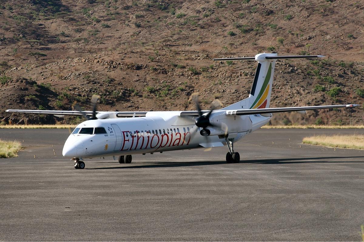 File:Ethiopian Airlines De Havilland Canada DHC-8-402Q Dash 8  Stehmann-2.jpg - Wikimedia Commons