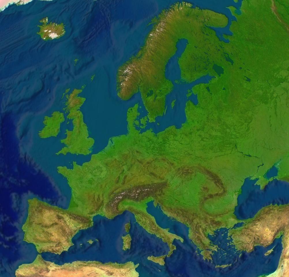 EUROPA Topografie & Kaartkennis - oefenen en online leren