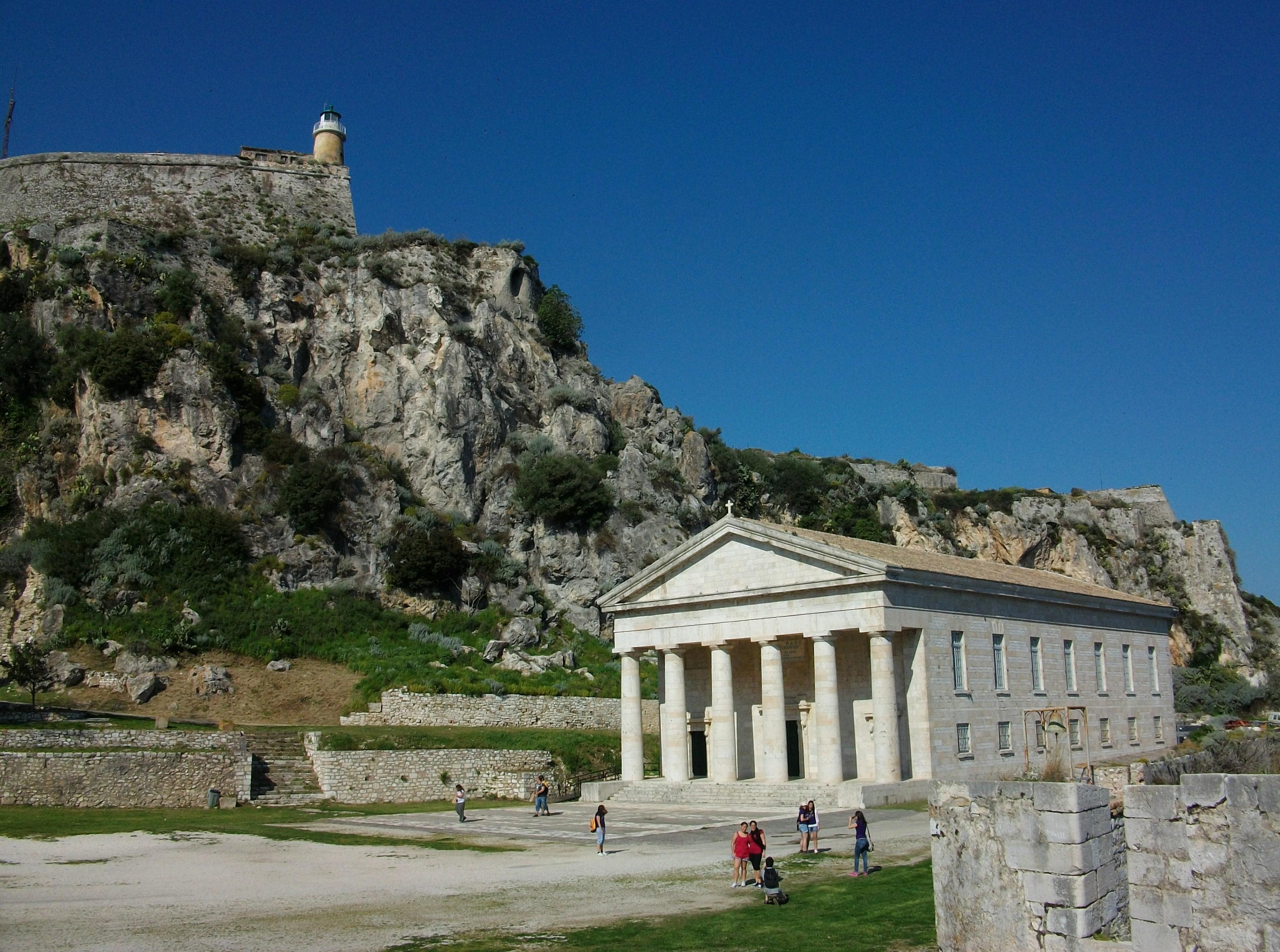 File:Far i església de sant Jordi, fortalesa vella de ...