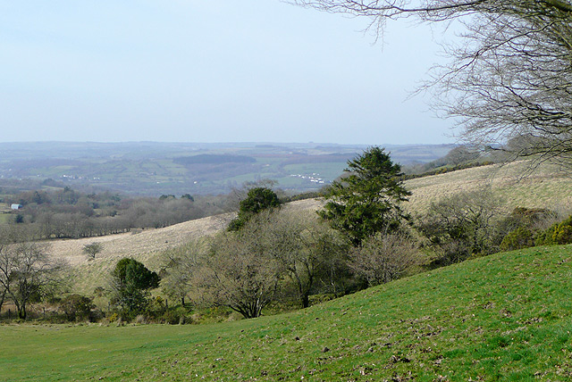 Farmland south-east of Lampeter, Carmarthenshire - geograph.org.uk - 1219203