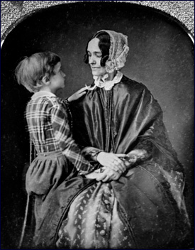 "Jane Pierce and ""Benny"", whose death cast a shadow over Pierce's term in office First ladies-pierce.jpg"