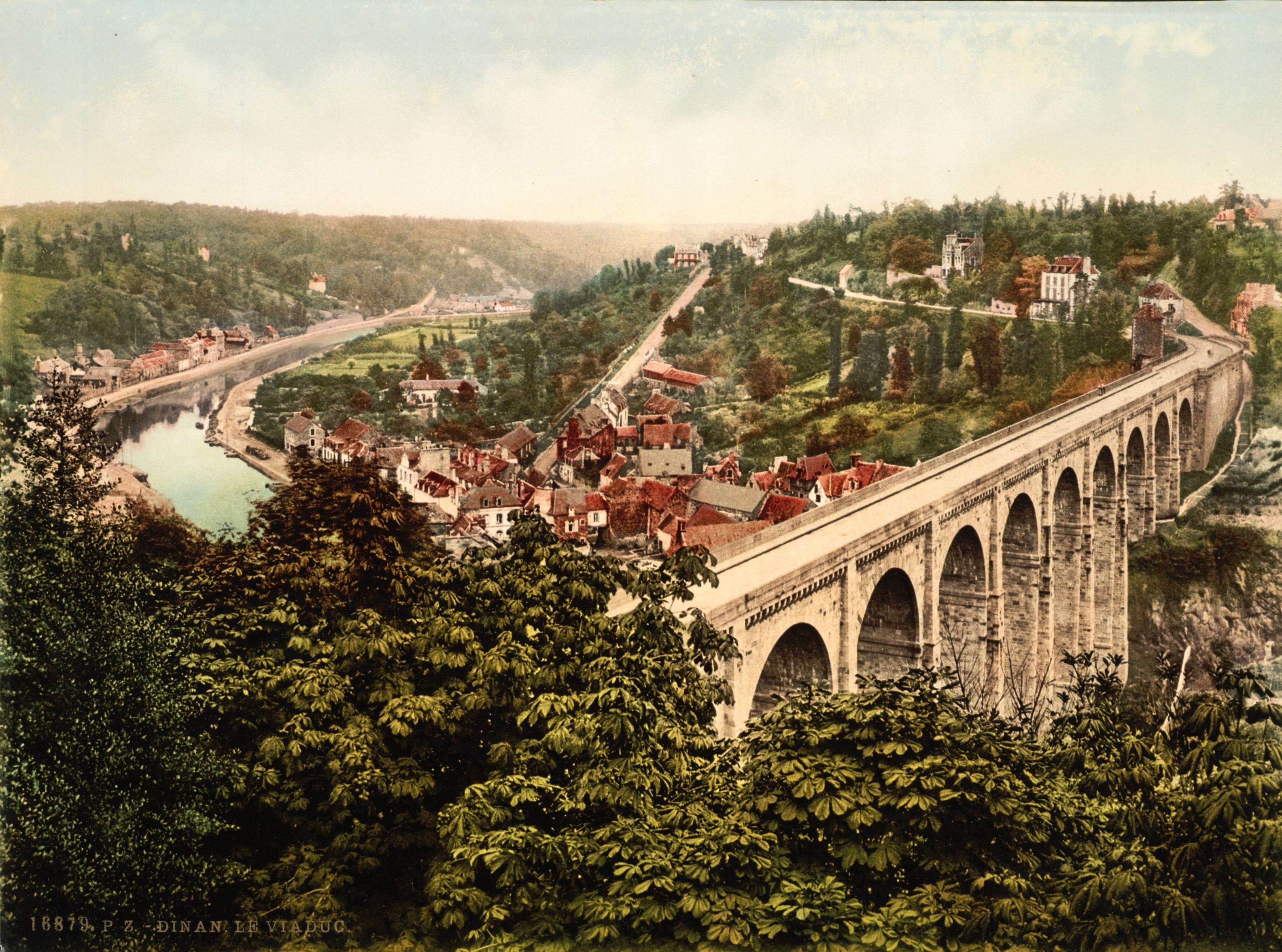 Dinan France  city photos : ... :Flickr …trialsanderrors Viaduct, Dinan, France, ca. 1895