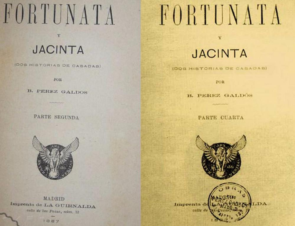 Depiction of Fortunata y Jacinta