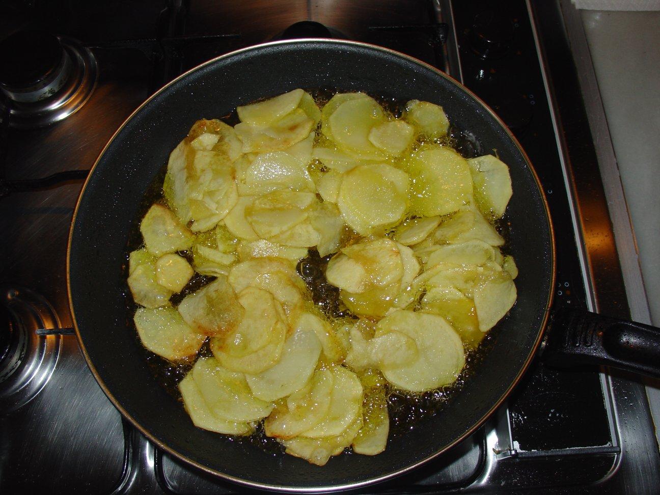 Receta de cubierta de patatas