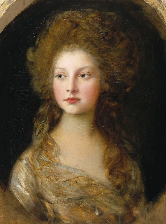 Gainsborough United Kingdom  city pictures gallery : gainsborough portrait of princess elizabeth of the united kingdom ...