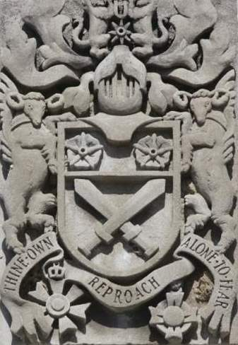 File:Gen Sir Arthur William Currie arms, Currie Building, Royal Military College of Canada.jpg