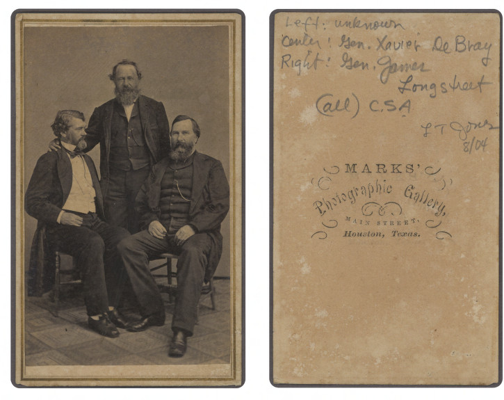File:General Xavier Blanchard DeBray (center), General ...