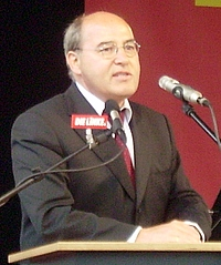English: Gregor Gysi, a politician of the Germ...