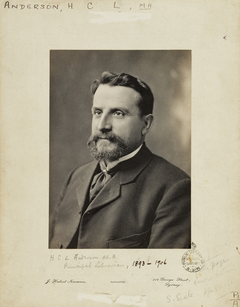Henry Charles Lennox Anderson - Wikipedia