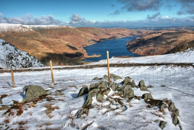Haweswater from Little Harter Fell - geograph.org.uk - 1202091