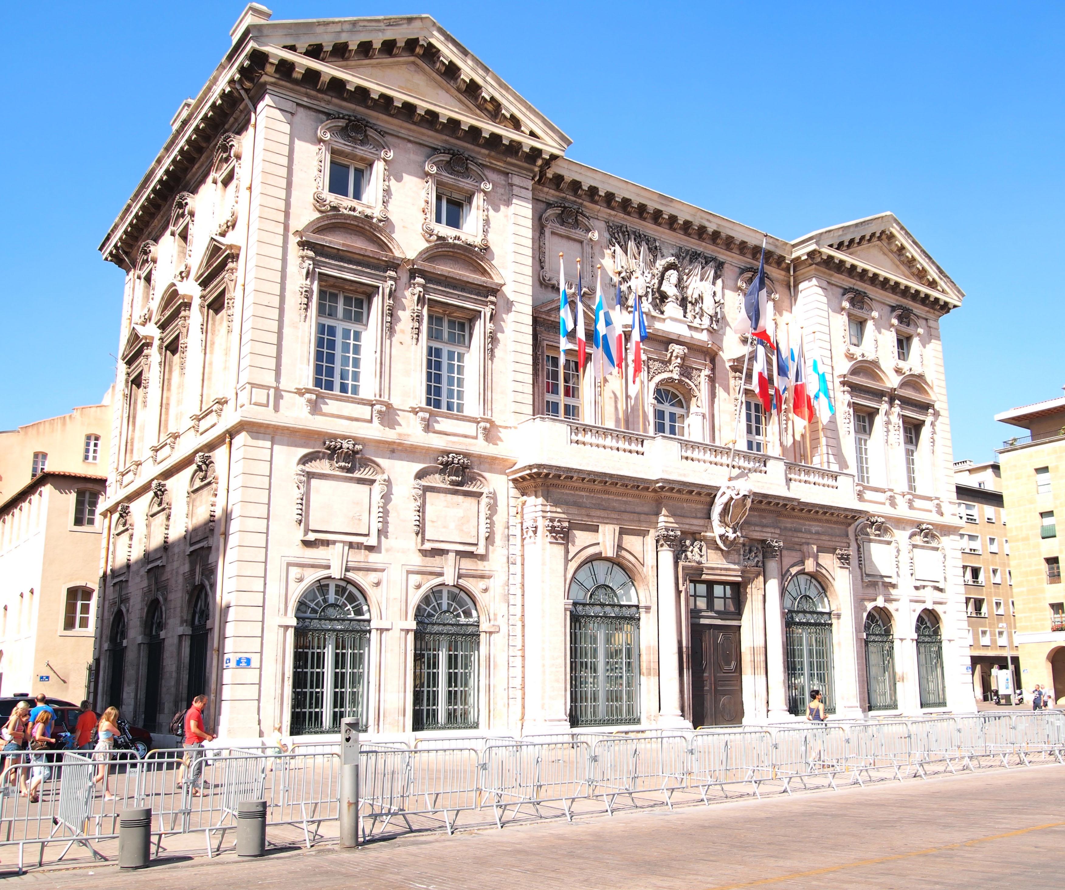File hotel de ville wikimedia commons for Asptt marseille piscine