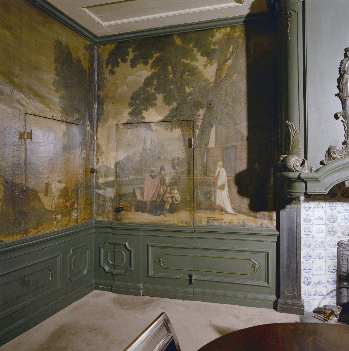 File interieur regentenkamer wandbespanning haarlem for Interieur haarlem